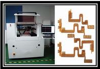 Cina Automatic CNC Laser Cutting Machine High Accuracy 8 - 10W 2500Kg Weight pabrik