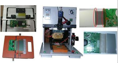 Pemanas kepala Hot Bar Soldering Machine dengan Linear Guideway / LCD display